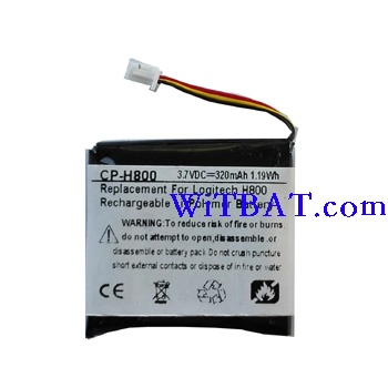 Logitech H800 Headset Battery 993-000565 CP-H800 ABUIABACGAAgoPq1sgUohrHe2AYw3gI43gI